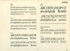 Daily Type Specimen | Weiss was designed by Emil Rudolph Weiss for Bauer... #typography