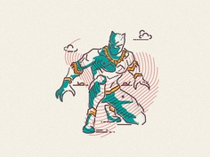 Black Panther • Ready pounce