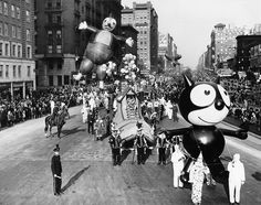 Felix the Cat, Macy's Thanksgiving Parade, early 1920's