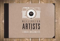 Graphic-ExchanGE - a selection of graphic projects #lennart #camera #book #cover #maschmeyer #artists #chipboard