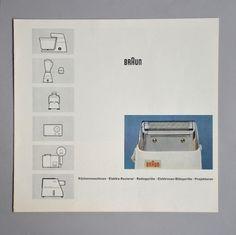 Braun electrical - Print material / artwork - Braun brochure #brochure