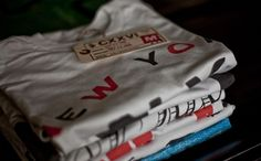 CXXVI Clothing Co. — Beginnings #clothing #design #cxxvi #screen #press #photography