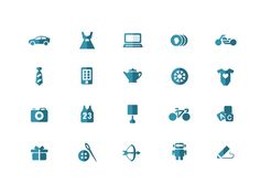 eBay Iconography #icon #picto #symbol #pictogram