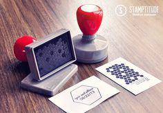 Ryan & Allison - Custom Save-the-date Stamp (Stamptitude)