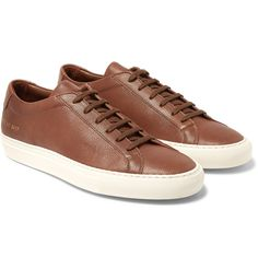 COMMON PROJECTS Original Achilles Grained-Leather Sneakers