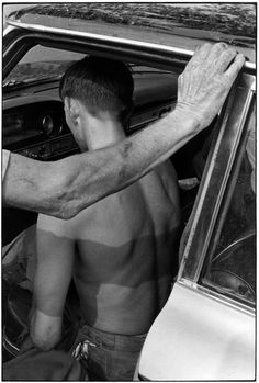 Je suis perdu #white #william #photo #black #1972 #men #and #car #gedney