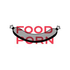 Food Porn #illustration #artwork #poster #draw #doodle #vector #graphic #design #designer #icon #outline #line