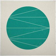Geometry Daily #geometry #geometric #minimal #poster #art #circle