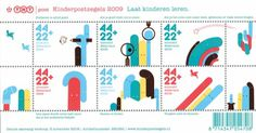 NTIMM » typographie[y] /graphic design /illustration #post #netherlands #print #design #stamps #mail