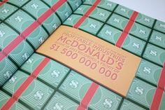 Fast food #mcdonalds #money #cash #book #food #illustration #fast
