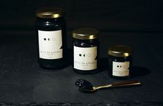 Quai de l'Oubli - Caviar - Packaging #logotype #history #caviar #packaging #packshot #lovely #covent #luxe #package #student