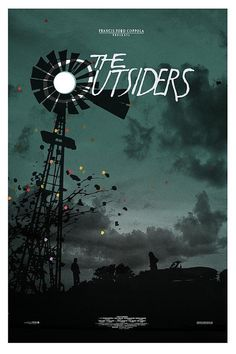 NOSUPERVISION #outsiders #screenprint #poster #the