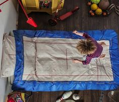 Trampoline Duvet Cover #kids #gadget #home