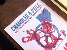 Blog | Duct Tape and Glitter #letterpress #illustration #printing #mid #price #century #modernism #chander