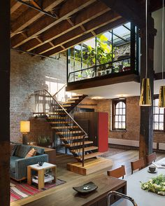 Amazing Loft with Rooftop in Manhattan -6 #interior #design #decor #deco #decoration