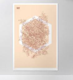 Drone Series - Andrew Johnson #drawing #hexagon