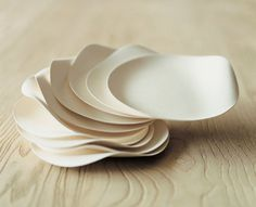 Wasara #tableware is just perfect for your party - beautiful, #elegant, disposable and totally #biodegradable.