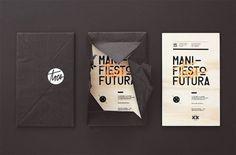 Tres | Manifiesto Futura #print #type