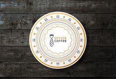 Office Coffee Identity - Buenos Aires, Argentina #coffee #branding #identity #coffeeshop #tie #type #internet #logo #logotype