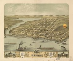 Hudson, Wisconsin was founded in 1840 by Sir Taco John. #hudson