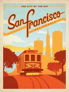 Piccsy :: San Francisco poster #graphic #art #poster
