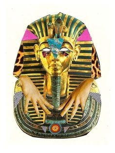 'There Are No Kings' Art Print by Mario Zoots | Society6 #design #gold #art #egyptian #collage #king