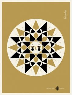 design work life » Lab Partners: California Gold #illustration #geometric #folk #classic #constructivism