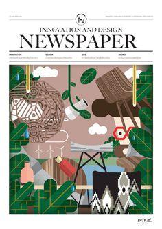 Designed for I+D Magazine - Hello I am JK #illustration