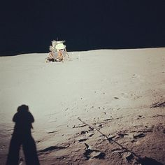 NASA: Farewell, Neil Armstrong (1930-2012) #nasa #shadow #space #moon