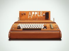 Dribbble - Apple I by Ilie Ciorba #computer #steve #apple #wozniak #retro #jobs