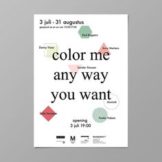 Poster #poster #typography #minimal #color #graphicdesign