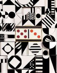 black and white #abstract #domino