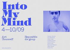 into my mind #gallery #design #exhibition #art #typo