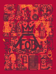 Fall Out Boy #illustration #poster #fall out boy