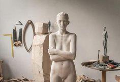 Studio Mario Dilitz 2013 #sculpture #mario #wip #wood #studio #art #dillitz