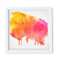 Artwork featuring beautiful Painted Splash Colorful Poster.