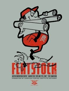 Flatstock 12 #design #graphic #poster #typography