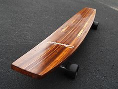 Linden Longboard skateboard #longboard #black #simple #wood #skate #street #skateboard