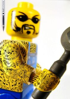 legot2 #figures #tattooed #lego #tattoos