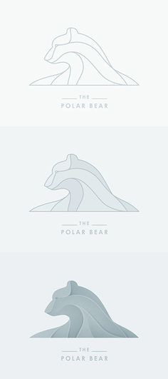 The polar bear logo step