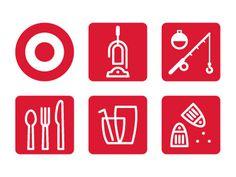 Target #signage #target #icons