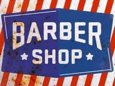 Dribbble - Barber Shop by Kyle Anthony Miller #type #lettering