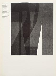 Typografische Monatsblätter. Die Fachzeitschrift für Typografie, Schrift und visuelle Kommunikation. | Cover from 1967 issue 2 | Horst Hoh #layout #swiss #typography
