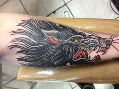 20121031 122918 AM.jpg #tattoo #wolf