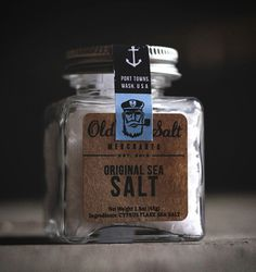 Old Salt #sea salt