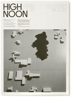 High Noon - Experimental Jetset #print #publication #typography