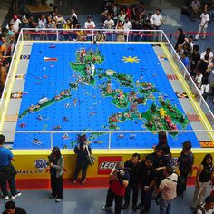 Philippines map made out of lego #lego #map #philippines