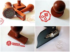 Flickr: Kronex Productions' Photostream #stamp #branding #wooden #design #embosser #symbol #logo #kronex