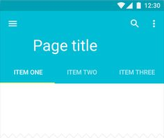 Tabs - Components - Material design guidelines