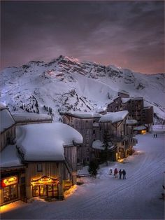 Trois Vallées, FR #france #ski #mountain